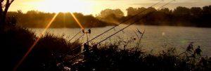 Sunset over Martello Lakes
