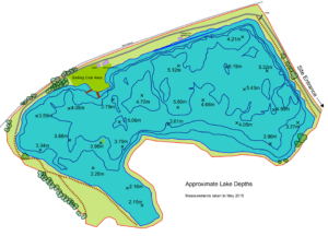Martello Lake depth
